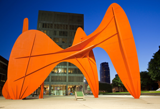 Calder Sculpture- SWalker
